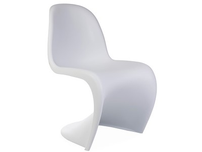 Image de la chaise design Silla Panton - Blanca