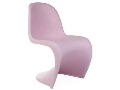 Image de la chaise design Silla Panton - Rosa