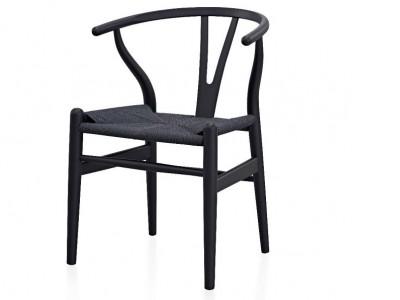 Image de la chaise design Wegner Silla Wishbone CH24 - Madera natural