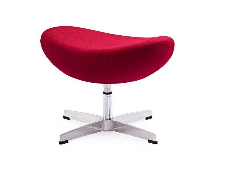 Image du fauteuil design Egg Ottoman Arne COSYSEN - Rojo