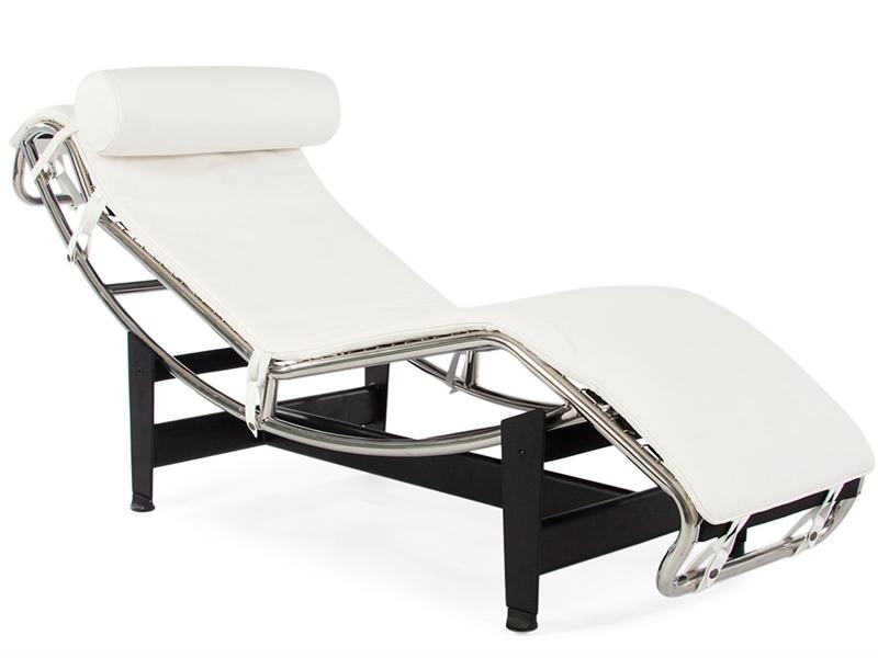 Image du fauteuil design LC2 Silla tumbona - Blanco