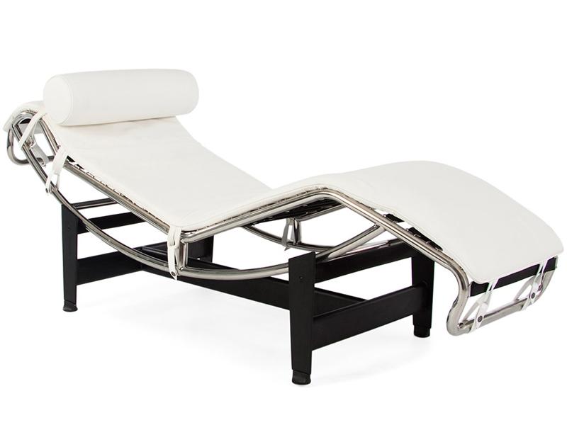 Image du fauteuil design LC4 Silla tumbona - Blanco