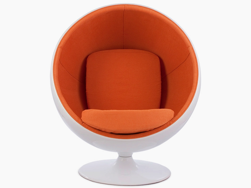Image du fauteuil design Silla Ball Eero Aarnio - Naranja