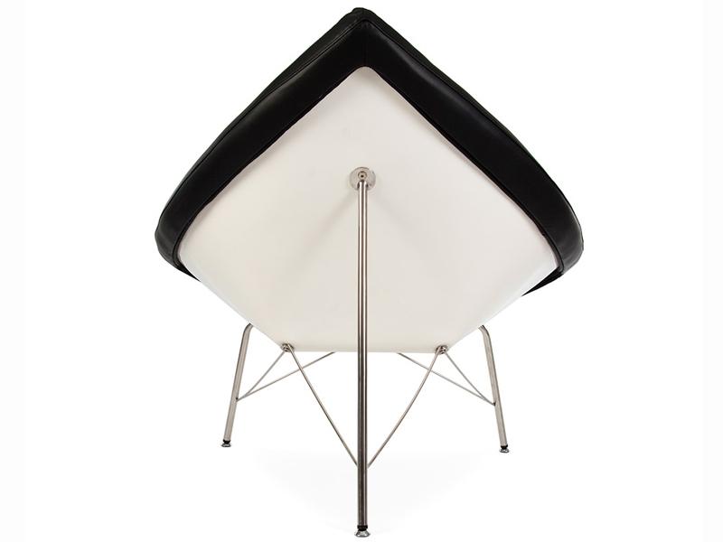 Image du fauteuil design Silla Coconut Nelson - Negro