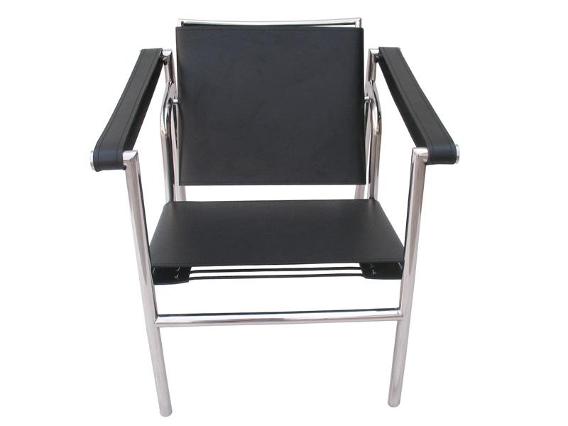 Image du fauteuil design Silla LC1 Le Corbusier - Negro
