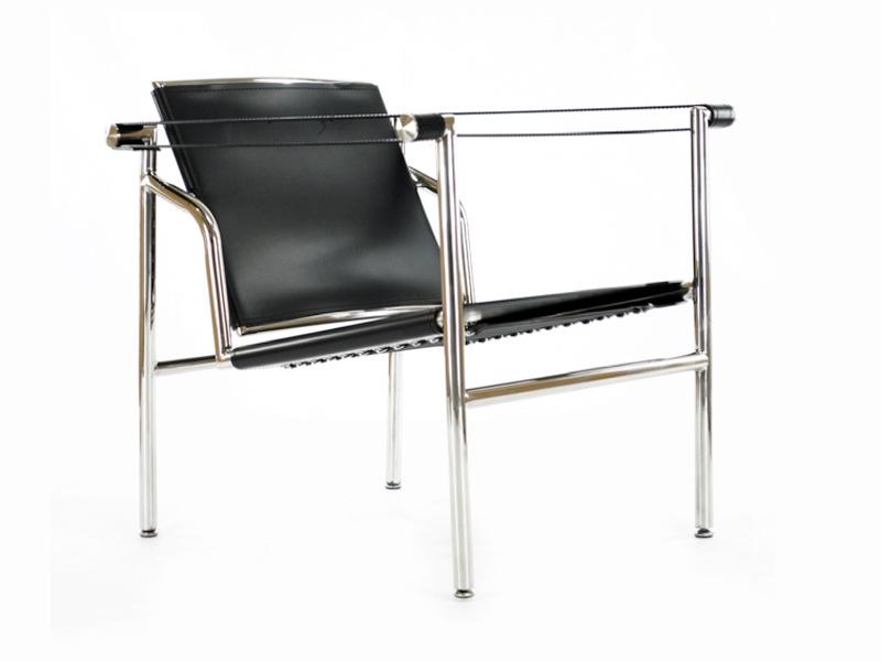 silla lc1 le corbusier negro