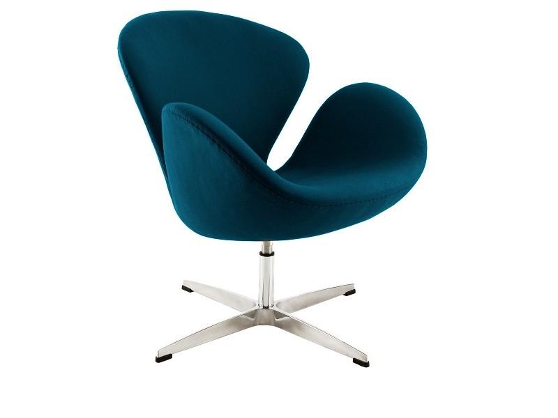 Image du fauteuil design Silla Swan Arne COSYSEN - Azul real