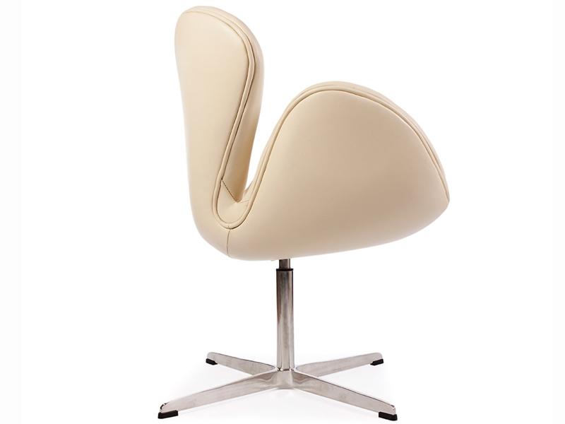 Image du fauteuil design Silla Swan Arne Jacobsen - Beige