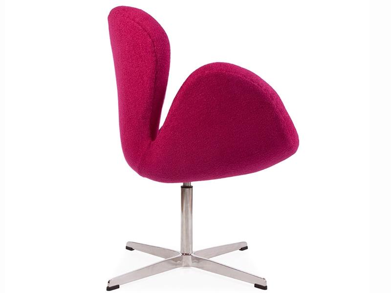 Image du fauteuil design Silla Swan Arne Jacobsen - Rosa