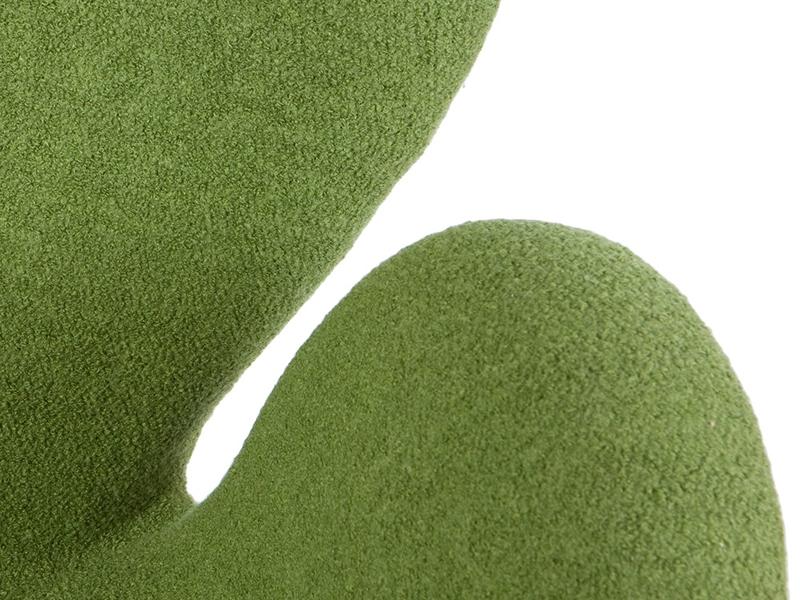 Image du fauteuil design Silla Swan Arne Jacobsen - Verde