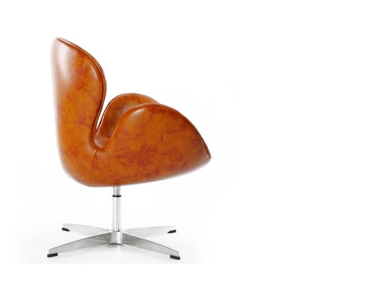 Image du fauteuil design Sillá Swan Arne Jacobsen - Vintage Castaño