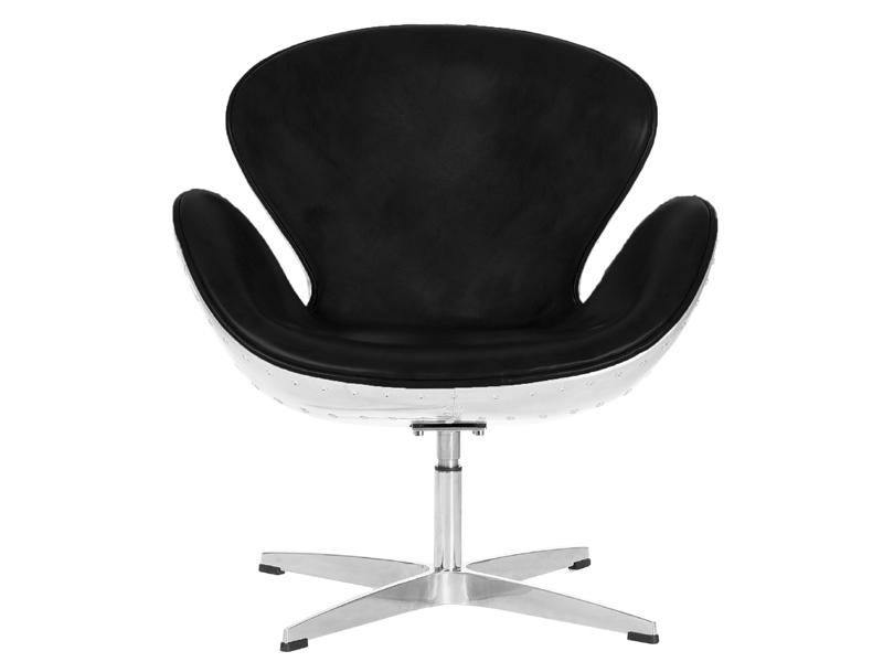 Image du fauteuil design Silla Swan Spitfire AJ - Negro
