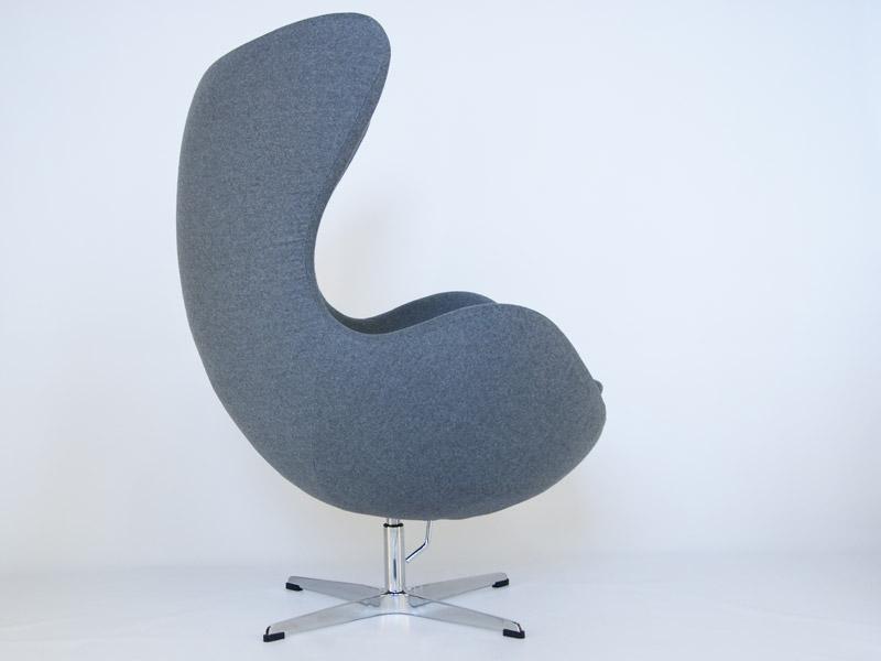 Image du fauteuil design Sillón Egg AJ - Gris