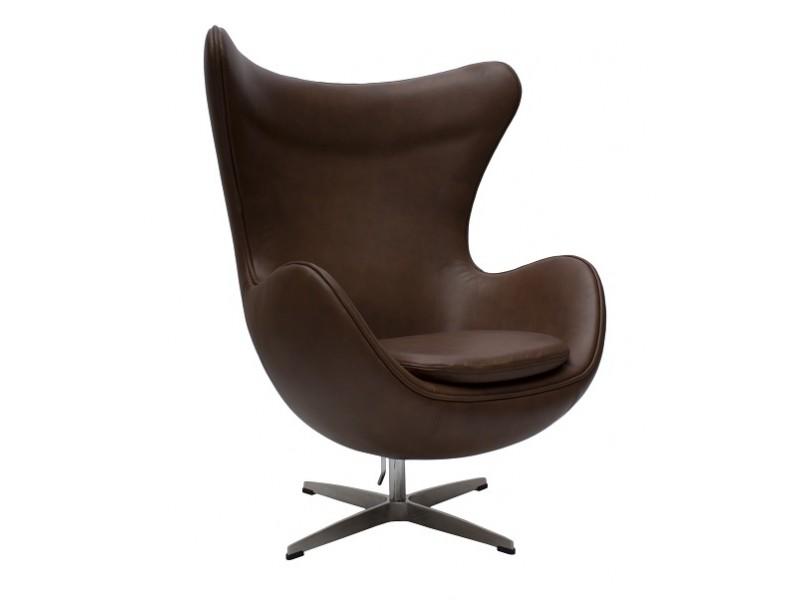 Image du fauteuil design Sillón Egg Arne COSYSEN - Marrón