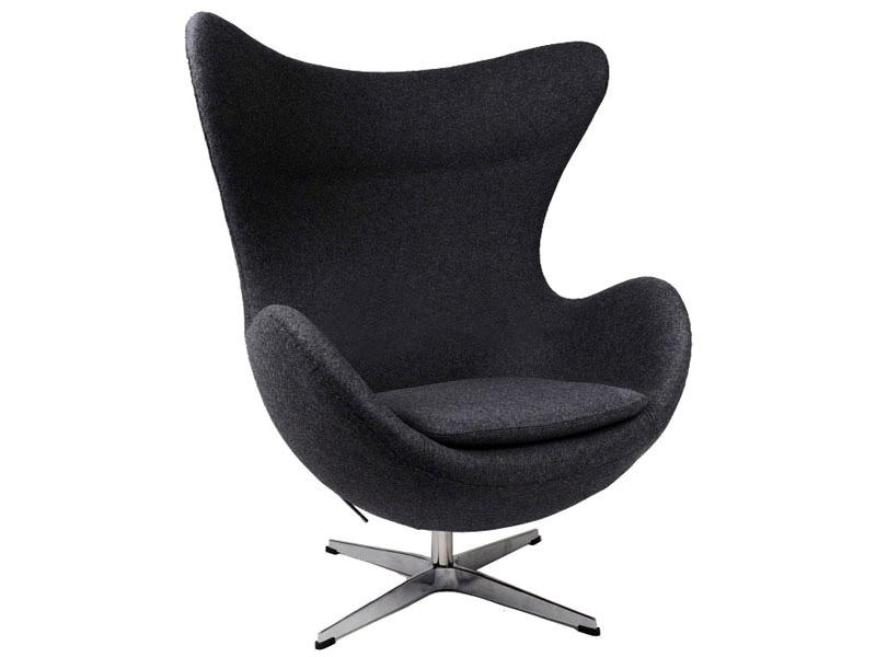 Image du fauteuil design Sillón Egg Arne COSYSEN - Negro