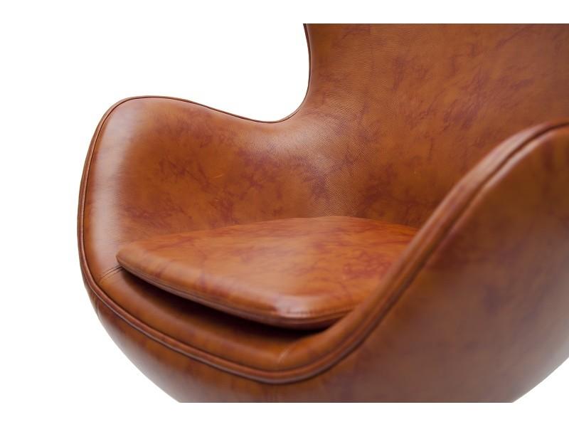 Image du fauteuil design Sillón Egg Arne Jacobsen - Marrón  Vintage