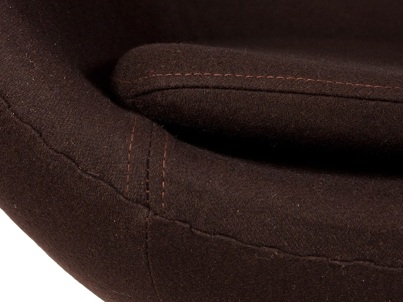 Image du fauteuil design Sillón Egg Arne Jacobsen - Marrón