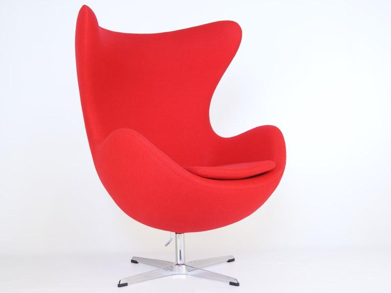 Sillon Egg Jacobsen Of Sill N Egg Arne Jacobsen Rojo