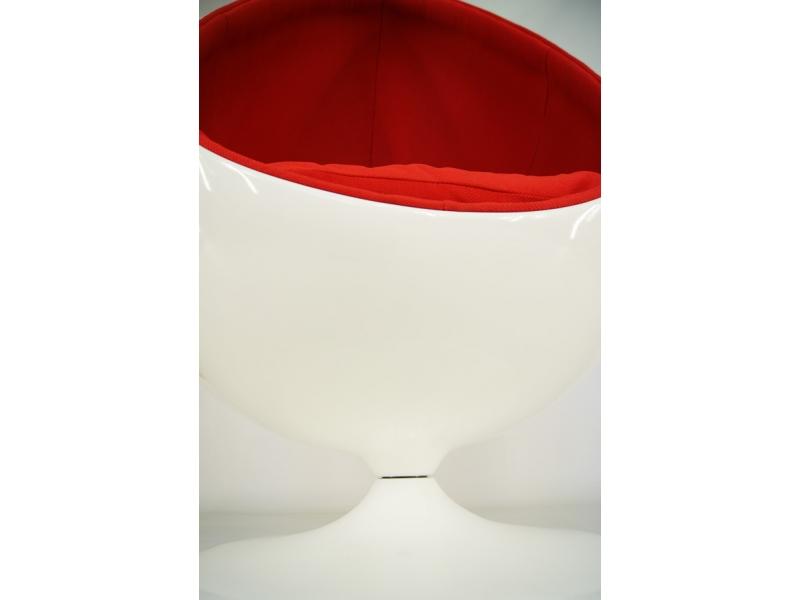 Image du fauteuil design Sillón Egg Oval - Rojo