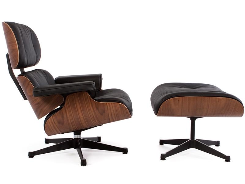Image du fauteuil design Sillón Lounge Eames - Nogal