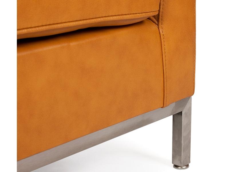 Image du fauteuil design Sillón Lounge Knoll - Caramelo