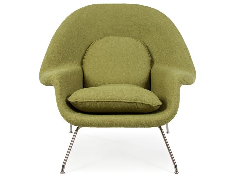 Image du fauteuil design Sillón Womb - Verde oliva