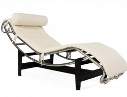Image du fauteuil design LC4 Silla tumbona - Crema
