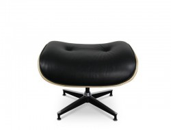 Image du fauteuil design Ottoman Lounge Eames - Nogal claro