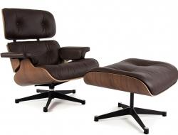 Image du fauteuil design Premium Sillón Lounge Eames - Nogal