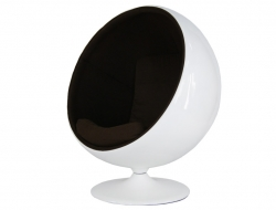 Image du fauteuil design Silla Ball Eero Aarnio - Café