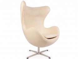 Image du fauteuil design Sillón Egg Arne Jacobsen - Beige