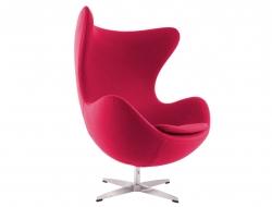 Image du fauteuil design Sillón Egg Arne Jacobsen - Rosa