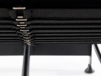 Image du fauteuil design COSY2 Silla tumbona - Negro