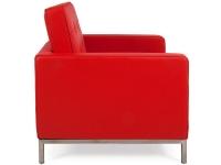Image du fauteuil design Siilón Lounge Knoll - Rojo