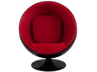 Image du fauteuil design Silla Ball Eero Aarnio - Rojo