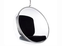 Image du fauteuil design Silla Bubble Eero Aarnio - Negro