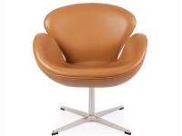 Image du fauteuil design Silla Swan Arne COSYSEN - Caramelo