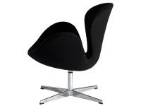 Image du fauteuil design Silla Swan Arne COSYSEN - Negro