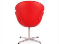 Image du fauteuil design Silla Swan Arne COSYSEN - Rojo