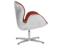 Image du fauteuil design Silla Swan Spitfire AJ - Habana