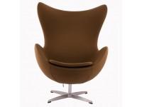 Image du fauteuil design Sillón Egg AJ - Chocolate Cafe
