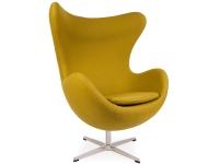 Image du fauteuil design Sillón Egg AJ - Verde-Oliva