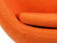 Image du fauteuil design Sillón Egg Arne COSYSEN - Naranja