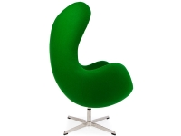 Image du fauteuil design Sillón Egg Arne Jacobsen - Esmeralda