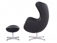Image du fauteuil design Sillón Egg Arne Jacobsen - Negro