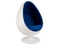 Image du fauteuil design Sillón Egg oval - Azul