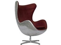 Image du fauteuil design Sillón Egg Spitfire AJ - Rojo