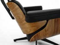 Image du fauteuil design Sillón Lounge COSY - Nogal