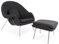 Image du fauteuil design Sillón Womb - Gris oscuro