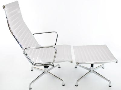 Image du fauteuil design Silla Lounge EA124 - Blanca